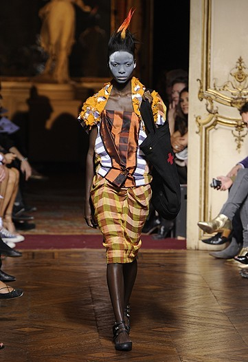 Vivienne Westwood Primavera-Verano 2010 en la Semana de la Moda de París