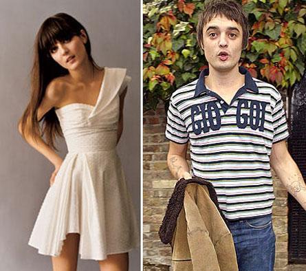 Irina Lazareanu y Pete Doherty ¿comprometidos?