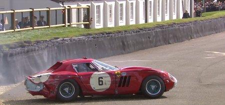 Dolorpasión™ es golpear contra las protecciones tu Ferrari 250 GTO de 1964