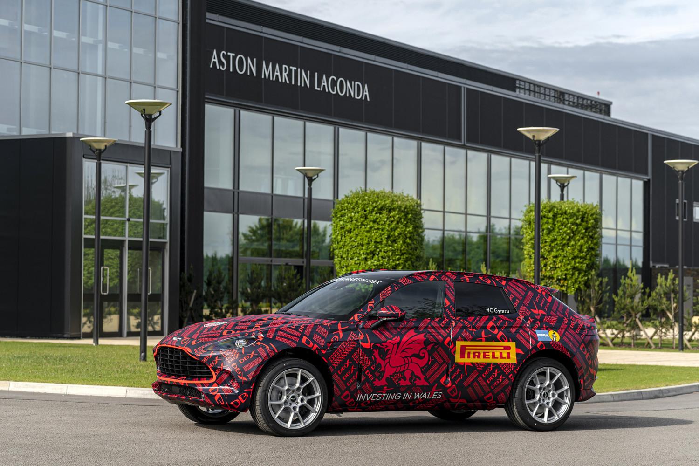 Foto de Aston Martin DBX, preproducción (9/23)