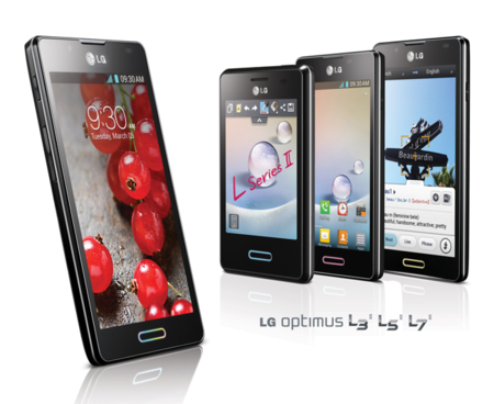 Nuevos LG Optimus L Series II