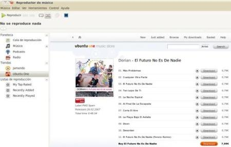 Llega la beta de Ubuntu One Music Store