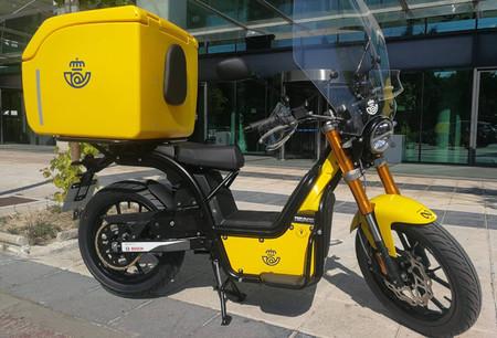 Correos compra 600 unidades de la Rieju Nuuk, una de las motos eléctricas que se puede adquirir con el Plan MOVES 2020