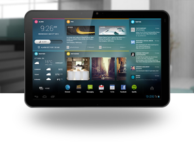 Chameleon, una interfaz Android para tablets en Kickstarter