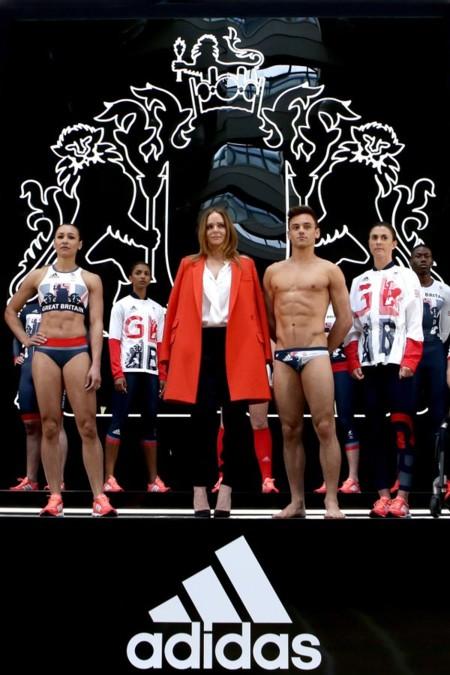 Stella McCartney viste de lujo a la delegación olímpica de Reino Unido de la mano de Adidas