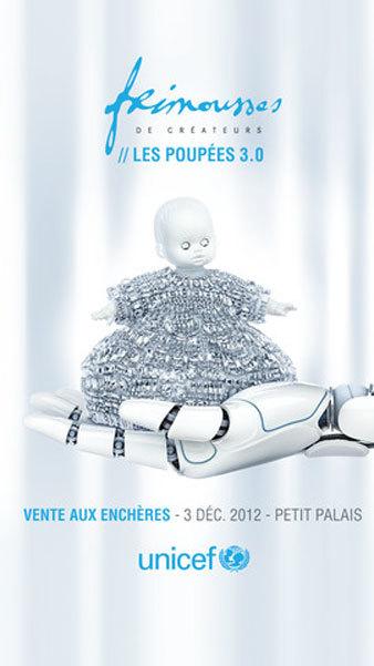 """Las """"Frimousses de Créateurs"""" YES FUTUR! expuestas en Le Petit Palais hasta el 2 de diciembre 2012"""