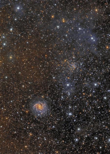 Fireworks Galaxy Cesar Blanco