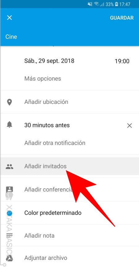 Anadir Invitados