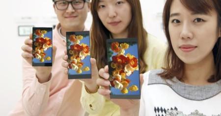 Así es la pantalla del LG G4: 5,5 pulgadas y resolución QHD