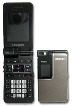 Samsung i770, Pocket PC con teclas dobles