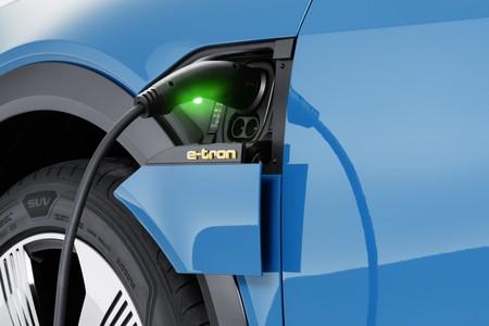 Audi e-Tron cargador