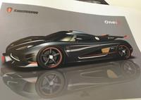 Koenigsegg One:1 - 1,400 hp, 1,400 kg, 450 km/h