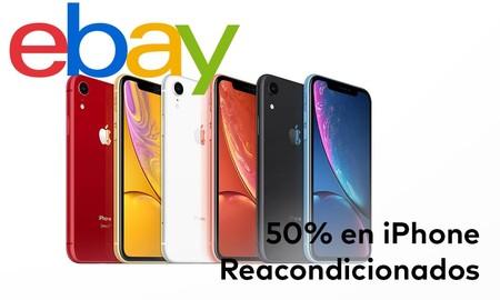 Comprar un iPhone reacondicionado sale mucho más barato con los descuentos de hasta el 50% de eBay