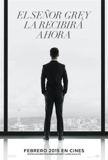 Y ya tenemos cartel de 'Cincuenta sombras de Grey'... Nervios...