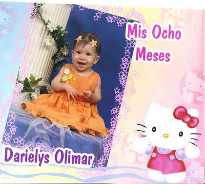 La foto de tu bebé: los 8 meses de Darielys