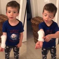 La inocencia de los niños: confunde una compresa con una tirita gigante y se vuelve viral