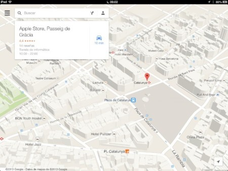Google Maps para iPad ya está disponible