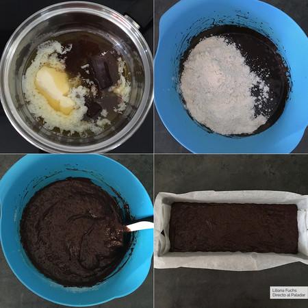 Bizcocho Chocolate Pasos