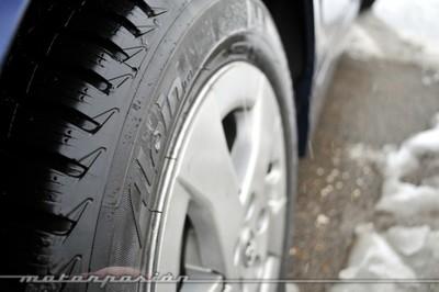 Michelin Alpin 4, prueba de neumáticos de invierno en un Toyota Prius