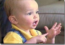 Lenguaje de señas para comunicarte con tu bebé