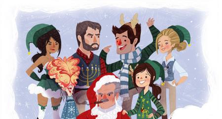 Naughty Dog nos desea una feliz Navidad