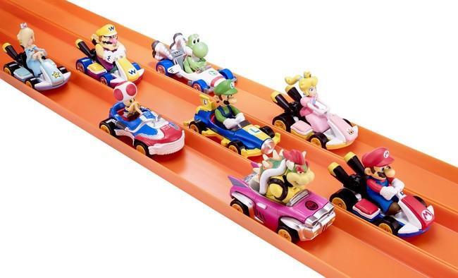 ¿Fan de Mario Kart? Hot-Wheels lanzará una colección de la famosa saga de Nintendo
