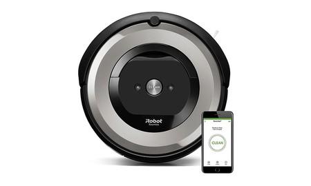 Precio mínimo en Amazon para el Roomba e5154, un robot de limpieza para hogares con mascotas que se queda ahora en 347,91 euros