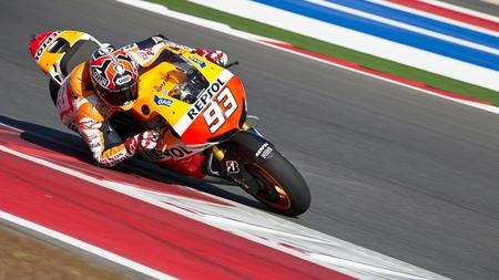 Mejor tiempo para Marc Márquez en el estreno de MotoGP en Austin
