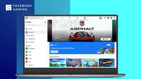 Facebook entra a la competencia del streaming de videojuegos: fase beta con cinco juegos para jugar sin salir de la red social