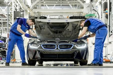 BMW i8 fabricación