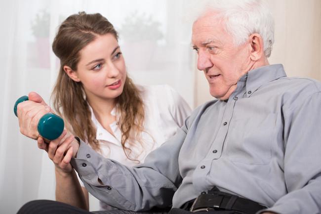 Fuerza en personas mayores