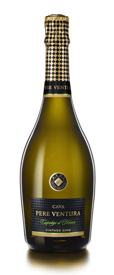 Cupatge d'Honor 2008 de Caves Pere Ventura, Medalla de Oro en el Challenge International du Vin 2012