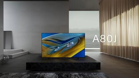 Los televisores Sony OLED A80J y LCD-LED X80J/X81J llegan a España: estas son sus características y precios oficiales