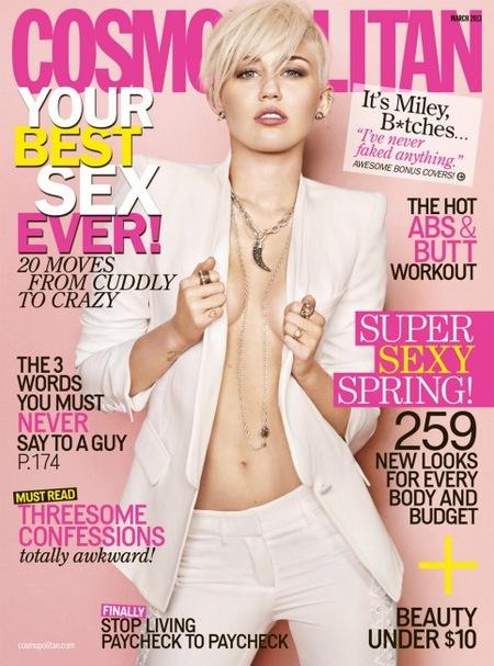 Miley Cyrus, corazón, ¿dónde te has dejado el sostén?
