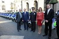 La Guardia Urbana de Barcelona estrena 30 unidades del scooter eléctrico BMW C Evolution