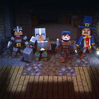 Así es Minecraft: Dungeons, un nuevo juego de fantasía, magia y espadas al estilo  Mojang