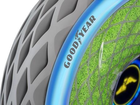 El neumático del futuro según Goodyear: musgo en tus ruedas para generar oxígeno