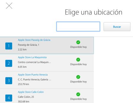 Apple Store Disponibilidad Recogida