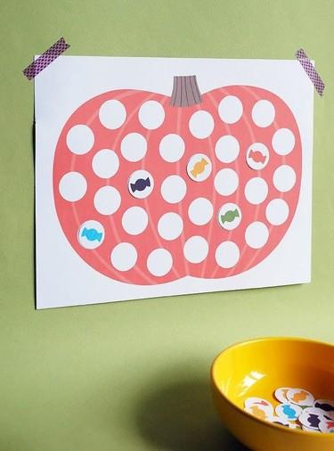 Cuenta los días que faltan para Halloween con este bonito calendario DIY