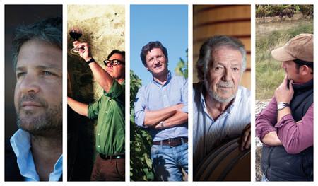 Los cinco enólogos que más han contribuido a mejorar la reputación del vino español en el mundo