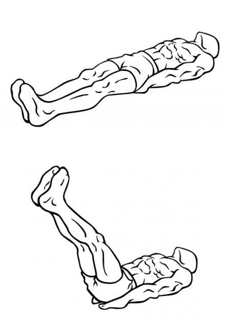 Levantamientos de piernas