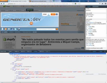 Mozilla Firefox 10 con nuevas herramientas para desarrolladores integradas de forma nativa