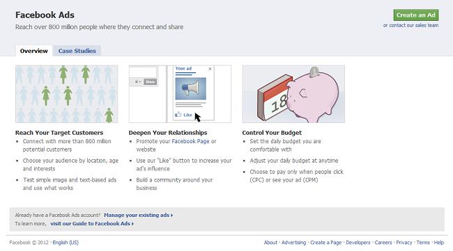 Los anuncios son una buena fuente de ingresos para Facebook.