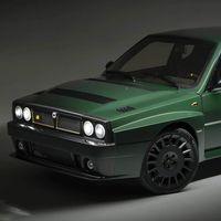 El Lancia Delta Futurista es un restomod de Automobili Amos que te dejará con la boca abierta... y la cartera vacía