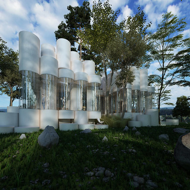 Descubre la espectacular Casa Cilindro de Cyril Lancelin