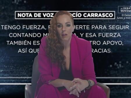 """La nota de audio con la que Rocío Carrasco ha abierto el segundo programa de la docuserie: """"Estoy desbordada, pero serena"""""""