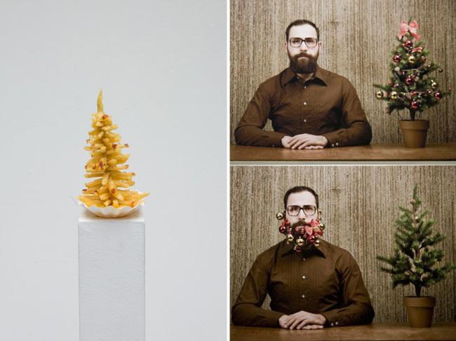 Árboles de navidad conceptuales