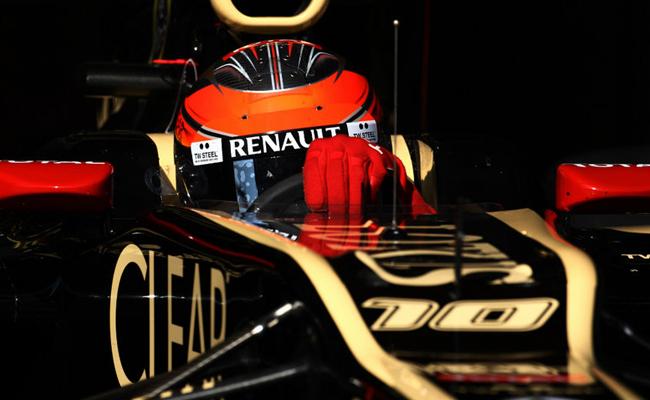 Romain Grosjean Lotus Boxes
