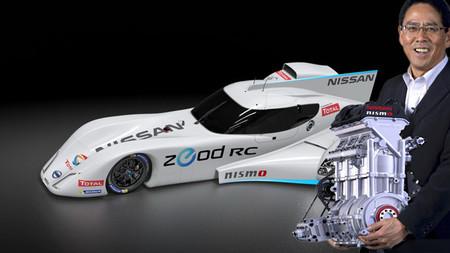 ¿Motor delantero para el Nissan GT-R LM NISMO LMP1?