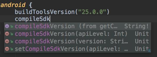 Autocompletado Kotlin Script 2